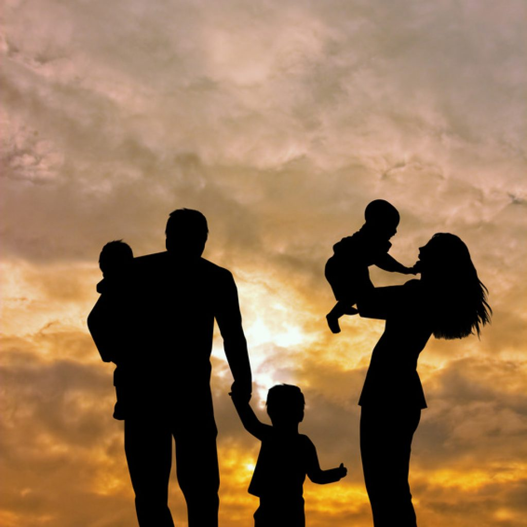 Famly silhouette